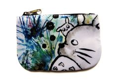 Totoro  Small Coin Purse by faithintoart on Etsy