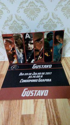 Convite Vingadores Filme
