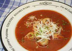 Rajská polévka III. recept - TopRecepty.cz Thai Red Curry, Soup, Ethnic Recipes, Soups