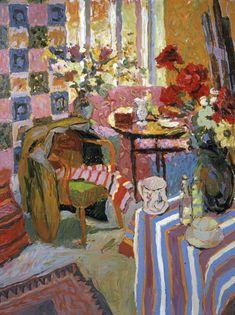 "Hugo Grenville, Studio Interior (HG617), Oil on Canvas 30"" x 34"""
