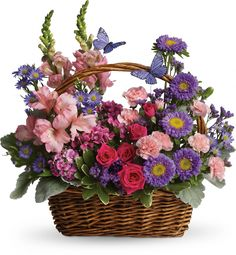 Order Country Basket Blooms flower arrangement from Flower No. your local Orlando, FL florist. Send Country Basket Blooms floral arrangement throughout Orlando, FL and surrounding areas. Birthday Flower Delivery, Same Day Flower Delivery, Fresh Flower Delivery, Easter Flowers, Mothers Day Flowers, Summer Flowers, Fresh Flowers, Ikebana, Get Well Flowers