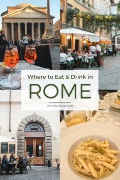 Where to Eat and Drink in Rome | Italy Travel Tips #italy