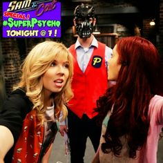 sam and cat super psycho | Don't forget tune Sam and Cat iCarly Special SuperPsycho @ 7 PM On ...