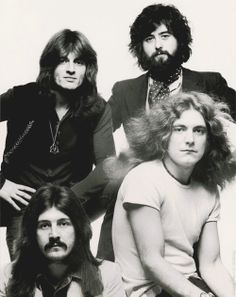 http://custard-pie.com/ Robert Plant, Jimmy Page, John Bonham & John Paul…