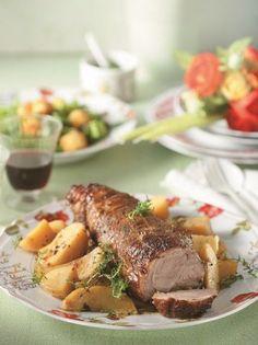 Αρνίσιο μπούτι με πετιμέζι και μουστάρδα ψημένο σε κληματόβεργες - www.olivemagazine.gr
