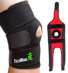 4f476ecd52 TechWare Pro Knee Brace Support - Relieves ACL, LCL, MCL Essential Oils For  Pain