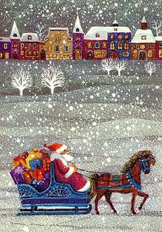 """Snowflakes Fall"" ~ by Award-Winning Artist Steven Kellogg"
