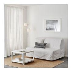LYCKSELE MURBO Two-seat sofa-bed - Ransta white - IKEA
