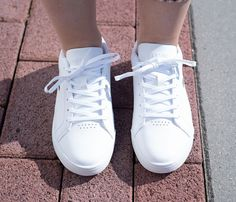 lacoste white shoes challenge 119 - Google Search All White Shoes, Lacoste, Challenge, Google Search, Sneakers, Fashion, Tennis, Moda, Slippers