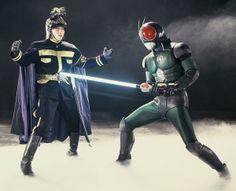 Manga, Kamen Rider, Knight, Tv Series, Batman, Black Rx, Superhero, Retro, Anime