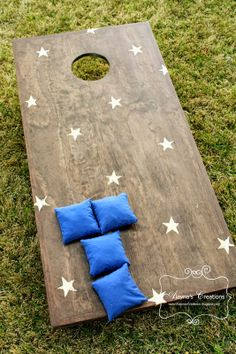 Alayna's Creations: DIY Corn Hole game boards
