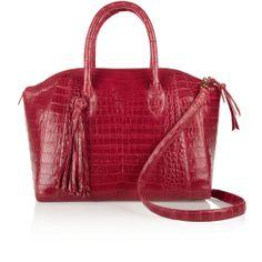 Nancy Gonzalez Crocodile shopper ($3,600) found on Polyvore