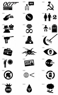 007 James Bond- This is just awesome.