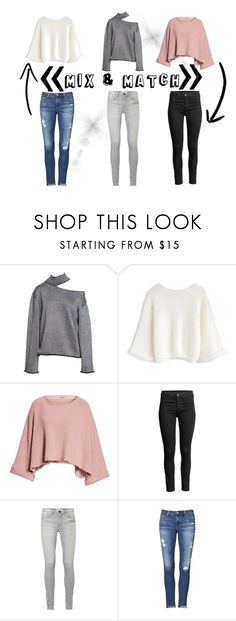 """""""Mix & Match"""" by emalee-vermeer on Polyvore featuring Free People and AG Adriano Goldschmied"""