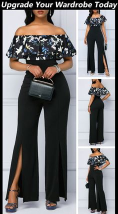 Classy Outfits, Cool Outfits, Casual Outfits, Spring Work Outfits, African Attire, Women's Fashion Dresses, Trendy Dresses, Fashion Clothes, Jumpsuits For Women