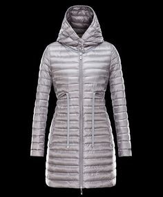 Acheter moncler BARBEL manteau doudoune longue femme capuche gris officiel  boutique Puffy Jacket, Boutique, abaf64b339a