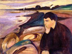 edvard munch - melancholy, (1894)
