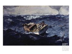 Gulf Stream Giclee Print by Winslow Homer at Art.com