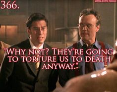 Wesley and Giles from Buffy the Vampire Slayer.