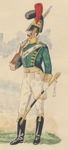 Regimiento de Chevaux-Légers de la Guardia 1812