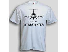 T-Shirt F-104 / mehr Infos auf: www.Guntia-Militaria-Shop.de