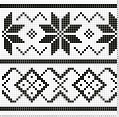 Patterns Kid Lous Easy Fair Isle Surface Pattern For Want Of A Pattern Tapestry Crochet Patterns, Fair Isle Knitting Patterns, Knitting Charts, Weaving Patterns, Knitting Stitches, Motif Fair Isle, Fair Isle Chart, Fair Isle Pattern, Cross Stitch Borders