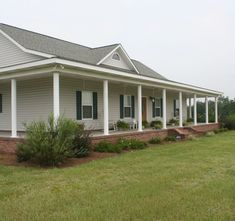 1000 images about wrap around porch on pinterest wrap for Modular home with wrap around porch