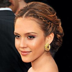 Summer Weddings - Celeb Hair - Jessica Alba #CelebHair&HairStyles