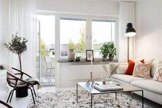 Un apartamento de estilo ¿nor-etnic? nórdico + étnico
