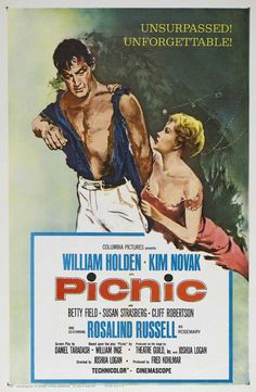 William Holden, Kim Novak -- Picnic,1955