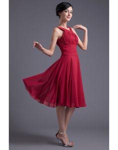 Formal Red Bridesmaid Dress