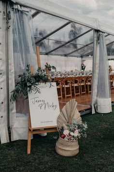 Clear roof marquee, Integrated flooring,Bamboo easel, Wooden padded folding chairs Party Hire, Coving, Catering Equipment, Ladder Decor, Wedding Planner, Bamboo, Coast, Easel