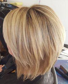 33 neue geschichtete Bob Frisuren 2017 -  #2017 #Hairstyles #Layered