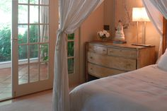 greige: interior design ideas and inspiration for the transitional home : Designers at home: Francine Gardner of Interieurs Princess And The Pea, Transitional House, Cottage, Curtains, Interior Design, Stamford Connecticut, Bedroom Country, Inspiration, Dressers
