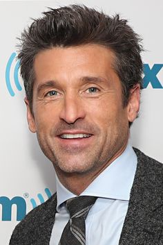 """Patrick Dempsey Photos Photos - SiriusXM's """"Town Hall"""" With The Cast Of """"Bridget Jones's Baby""""; 'Town Hall' To Air On SiriusXM's Entertainment Weekly Radio - Zimbio Sullivan Patrick Dempsey, Patrick Dempsey Bridget Jones, Bridget Jones Baby, Patrick Demsey, Derek Shepherd, Entertainment Weekly, Town Hall, Haircuts For Men, Greys Anatomy"""