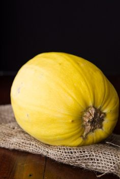 What to do with a spaghetti squash? Here's a great step-by-step (with photos!) explaining how to roast it to perfection. Just leave out the oil for Phase 1.