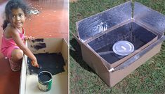 kyoto box, cardboard solar cooker, john bohmer, greenhouse effect technology, clean water, cooking water, lumber for heating, climate change challenge, global warming