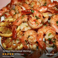 Grilled Marinated Shrimp | If you can spare a couple of hours for a good marinade, you can take your grilled shrimp from great to phenomenal! We'll show you how.