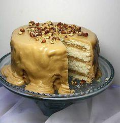Caramel White Velvet Butter Cake