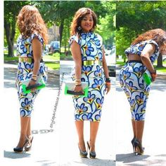 ....african print dress Check out Latest Ankara Styles and dresses >> http://www.dezangozone.com/