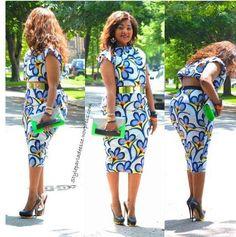 ....african print dress