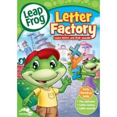 I wish I could say that it was because of me that my kids learned all of their letters sounds, but I'm pretty sure it came from the Letter Factory DVD