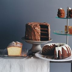 This four-layer stunner may just render all your other chocolate-cake recipes obsolete. A generous amount of sour cream keeps the cake layers tender, and the frosting is a glossy triumph. It's a natural fit for practically any get-together—from a simple family birthday celebration to an elaborate dinner party.