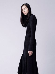 """fei fei sun in """"a matter of lenght"""" by willy vanderperre for vogue china september 2014."""