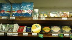 You can find Go Veggie! cheese products along with regular cheese at the local health food store. Veggie Cheese, Go Veggie, Liquor Cabinet, Veggies, Canning, Store, Health, Food, Products