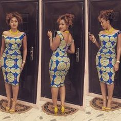 Check out Latest Ankara Styles and  dresses >> http://www.dezangozone.com/africangirlskillingit-65