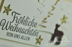 born2stamp STAMPIN' UP! IN{K}SPIRE_me Weihnachtskarte - Winterwunder - Thinlits Festtagsdesign - Thinlits Mini-treat bag