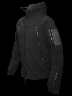 ARMA DIMENSION BREATHABLE JACKET  BLACK - soft shell