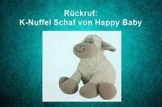 Rückruf: K-Nuffel Schaf von Happy Baby – Erstickungsgefahr!