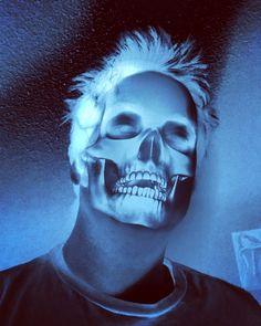 Ghost in the Machine Pt. 1  #art #skull #ghost #machine #animal #skeleton #horror #death #instashare #wokeuplikethis